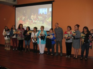 The women were honored at the unveiling and reception on October 10.