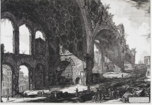 Giovanni Battista Piranesi Italian, 1720–1778 View of the Remains of the Dining Room of Nero's Golden House, commonly called the Temple of Peace, c. 1756-1778 Etching Gift of Ruth and Bruce Dayton 2007.49.2.2